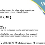 Vacature : Chauffeur